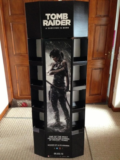 My awesome new Tomb Raider 2013 Display Stand!!  ~TRK's Tomb Raider Collection~