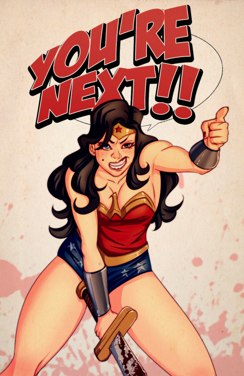 lulubonanza:  Wonder Woman's Fury by ~Kanish