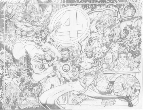 The Fantastic Four By Dale Eaglesham