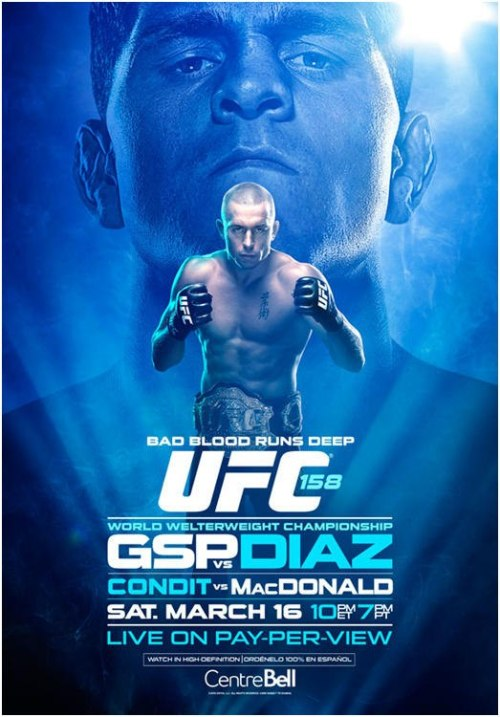 UFC 158: George St-Pierre vs. Nick Diaz