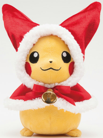 pika-chu:  2012 Christmas Pikachu; they were sold from limited time from October 2012.