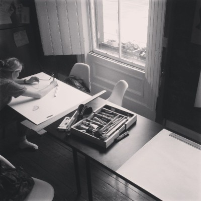 Drawing workshop with @henryowl