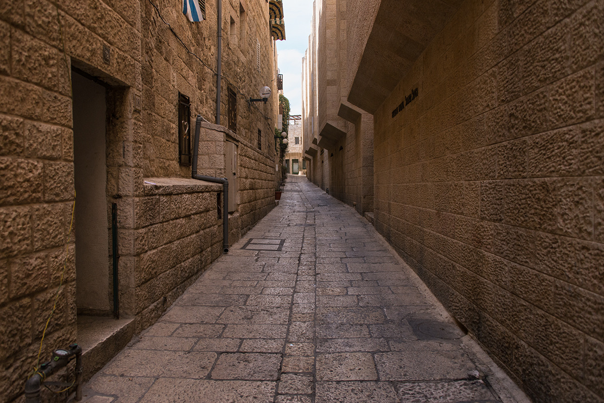 The Empty Street of Old Jerusalem. Photographs by ...
