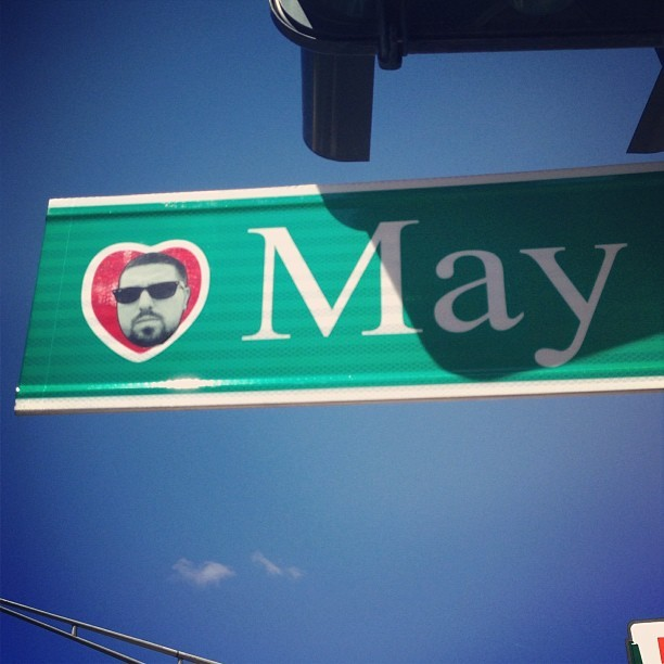 The city has a weird new logo on their street signs…