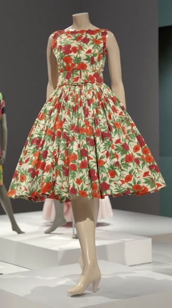 Cotton Faille Dress | Norman Norell | IMA | ca. 1957