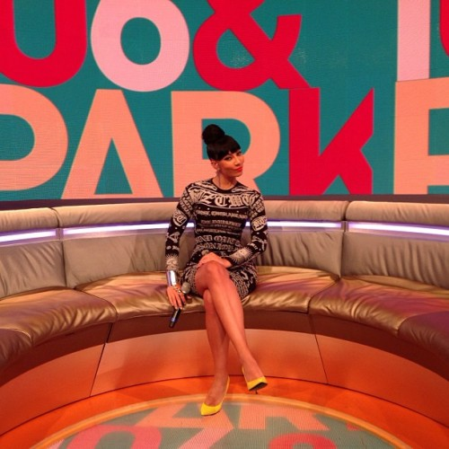 106andpark:  The beautiful & super talented @EyesOfBK is our co host for the day!!! **Dbl Tap if you think shes doing a great job** We wanna know what you think of her so far??