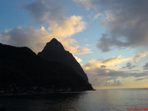 The land of my birth. St. Lucia: Helen of the West.