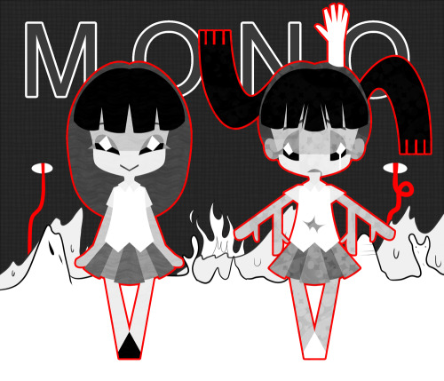 Now with more Monoko and Monoe