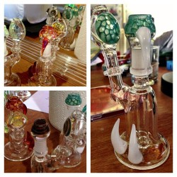 Hott lil babes #glasstomouth @glasstomouth #dank #glass #florida