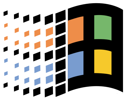 Microsoft Windows 95 Logo Windows 95 Logo