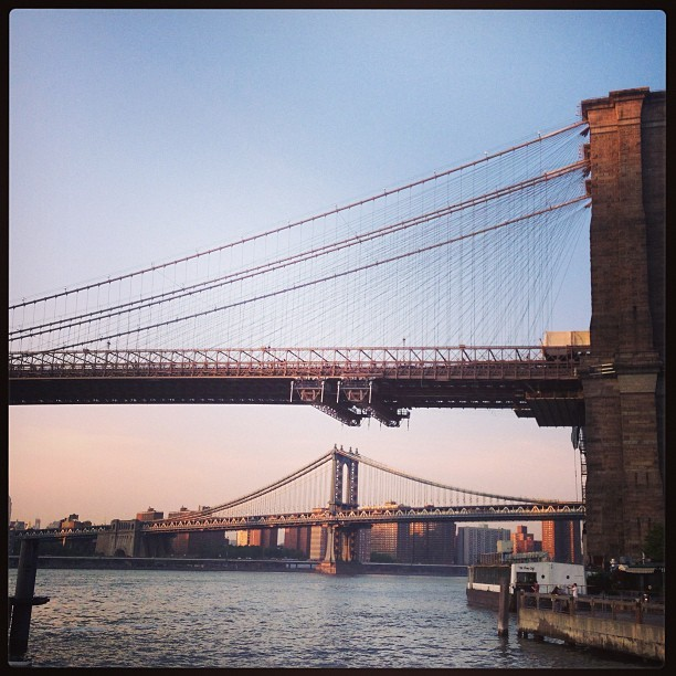 @kaytlynd running adventures 👟👟 (at Brooklyn Bridge Park)