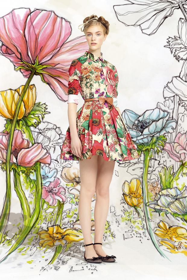 Red Valentino Spring/Summer 2014 Ready-to-Wear - Hedvig Palm