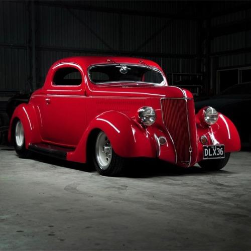 cars ford coupe hotrod hotrods vintage custom stance bagged slammed