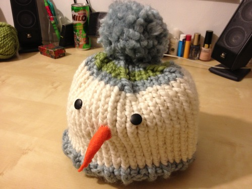 Made a snowman hat this week for a friend… Feel free to check it out on —>ETSY~!;)  I'm hoping to get some more hats uploaded in the next few weeks.  ~Enjoy!