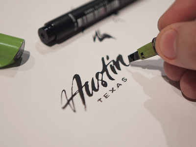 typeverything:  Austin by Eddie Lobanovskiy.