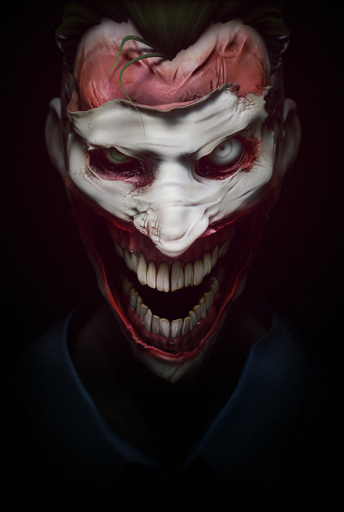 rurounidrew:  The Joker by =K4ll0