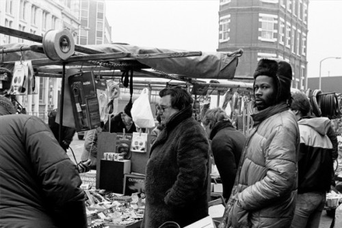 London's Shoreditch Market, ca. 1980s