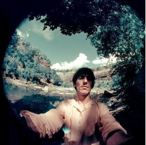 bhaktibear:  George Harrison's first trip to India. Circa August '66
