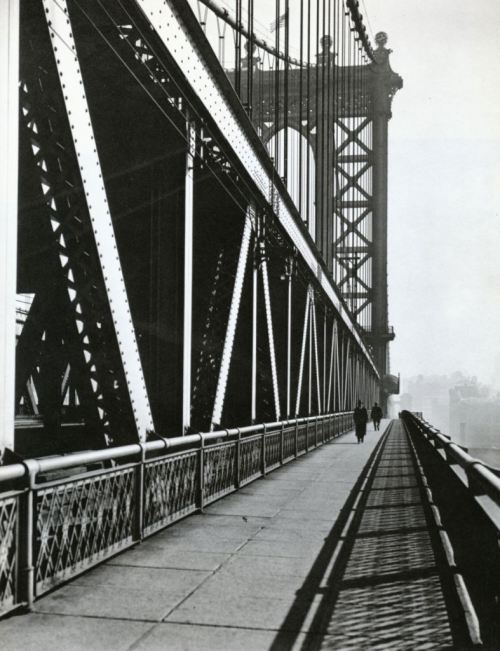 Manhattan Bridge, November 11th, 1936 Berenice Abbott