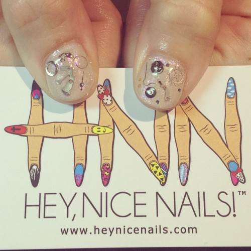 Watch parts #nailart #gelish  (at Hey, Nice Nails!)