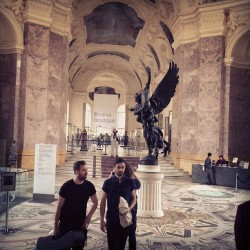 "Just got asked to sing some songs at ""Le Petit Palais"" in Paris. Beautiful place, we felt inappropriately loud."