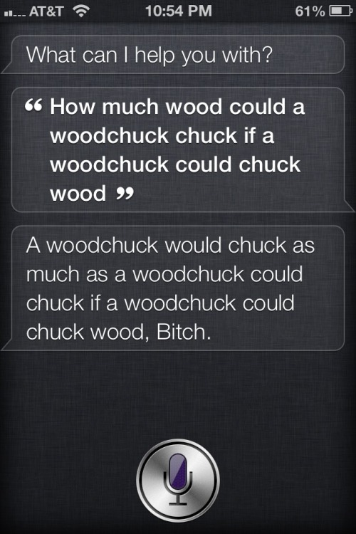 Tried to stump Siri, but I got schooled! lmao! :P