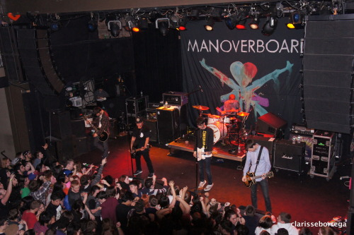 playpauseshuffle:  Man Overboard Suppy Nation Tour 2013 Music Hall of Williamsburg Brooklyn, NY