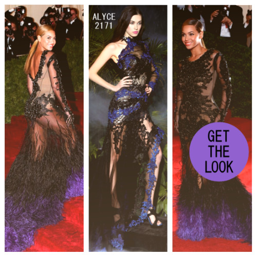 macktakmart:  GET THE MACKTAK LOOK: Megastar Beyonce stole the show when she showed up to the Met Gala 2012 in a stunning Givenchy couture gown! You can get the look for less with Alyce for Claudine 2171. This dress is for the girl willing to take fashion risks. Definitely HAUTE. available at MackTak Mart