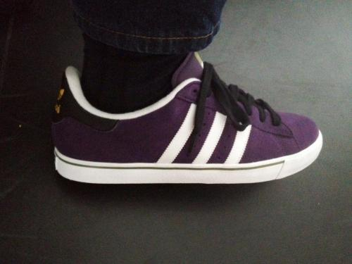 New purple kicks. Up goes the confidence, just a bit.