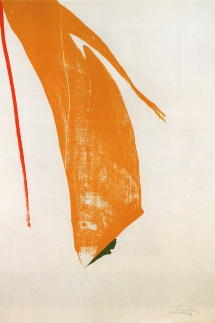 nexus8e:  Helen Frankenthaler What red lines can do 19703 colour screenprint
