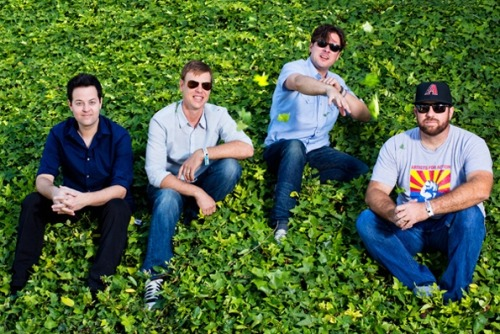 Jimmy Eat World for Rolling Stone, Irvine CA 2013
