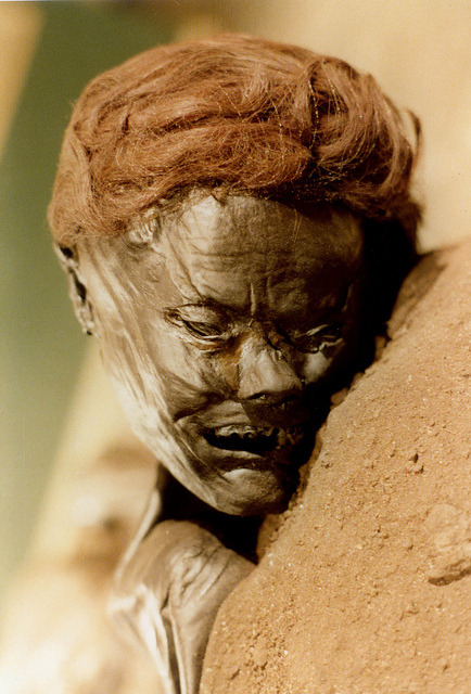 Denmark (Archaic Nordic) Iron Age Bog man with Asian features - Grauballemannen by saamiblog on Flickr.