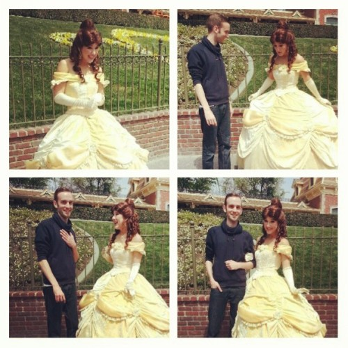 Highlight of the trip! #belle #disneyland
