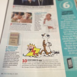 The #gocomics app is listed in the @ew Must List this week! Get it if you haven't already! #OfficiallyAwesome