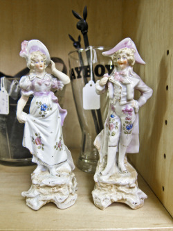 In Shop: Pretty Pair of Figurines £10