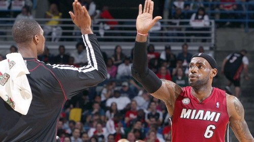 Heat down Bucks to earn first playoff sweep of Big Three era