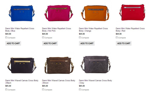 This screen shot makes me very happy. New nikolettebags.com coming soon to a browser near you!