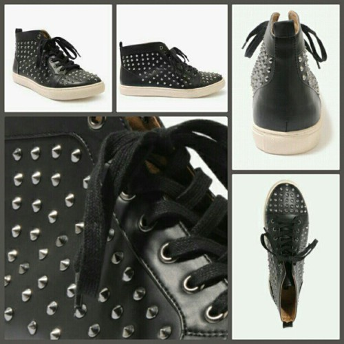 Spiked Faux Leather Shoes - $49.90 @Forever21 #21Men #Fashion #Shopping #BirthdayGiftIdeas #Spikes #Studs #MensFashion #Shoes