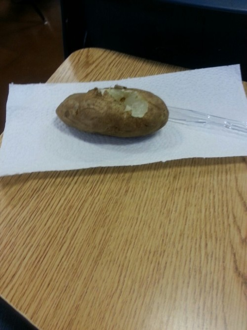 Potatoes for your English presentation tho… I guess