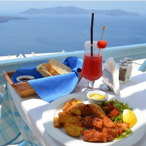 Volcano blue seafood restaurant tumblr for Blue fish restaurant