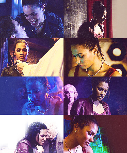 Screencap meme: Martha Jones + looking down asked by christopherecclestonsface