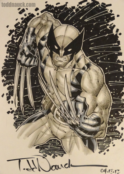 Wolverine. Copic sketch marker & Pigma Micron markers.Learn more about Copic markers.