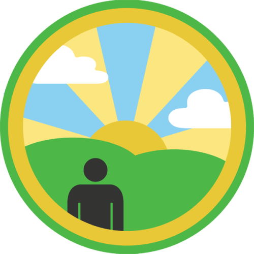 Lifescouts: Sunrise Badge If you have this badge, reblog it and share your story! Look through the notes to read other people's stories. Click here to buy this badge physically (ships worldwide).Lifescouts is a badge-collecting community of people who share real-world experiences online.
