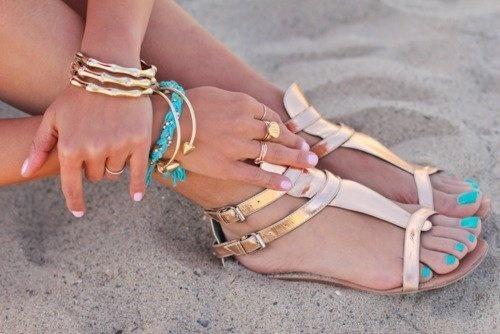 sand sandals shoes golden sandals