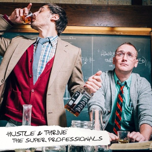 "No more sleeps! Hustle and Thrive's ""The Super Professionals"" is finally here! Go scoop it up at HustleAndThrive.com"