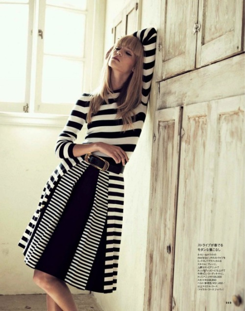 busade:  via Fashion & Style / michael kors: theres alexandersson  by takaki kumada for elle japan may 2013