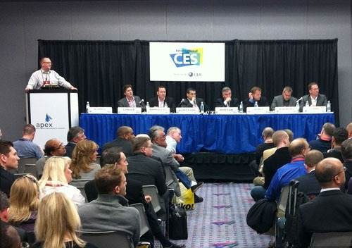 "The Future of IFE at CES Part 2: EWC is going out the window part 1 | part 3  Last week at the Consumer Electronics Show in Vegas, we got a firsthand look at the two forces that will fundamentally change in-flight entertainment: cheap, powerful consumer computing hardware like tablets, and effective in-flight broadband. And we got something even better: a chance to ask the key people in the IFE sector what this means for their businesses. The panel put on by APEX and moderated by Jonathan Norris on Thursday afternoon was a must-attend for anyone in our sector. It included top people from all the players in IFEC as it is currently construed: Row44, Thales, Gogo, Paramount, Panasonic, Delta, and Lufthansa Systems.     The APEX panel at CES, left to right: Jonathan Norris (APEX/INK), Travis Christ (Row44), Stuart Dunleavy (Thales), Ash ElDifrawi (Gogo), Mark Horton (Paramount), Neil James (Panasonic), Bob Kupbens (Delta), Jörg Liebe (Lufthansa Systems)  Most of the panel was a great recap of the kinds of things we see discussed all the time in IFE forums: these companies are embracing technology, connectivity is rolling out smartly, and everyone is bending over backwards to cripple their systems so they can show early-window Hollywood content (EWC)—movies between theatrical and broad consumer release. ""Streaming to a personal device makes us shudder,"" said Mark Horton, Paramount Pictures' Vice President, Non-Theatrical Distribution.  Say what?  It's well-known that Hollywood has a piracy problem—any industry in the business of marketing digital assets has had to struggle with the matter of unauthorized (and thus unmonetized) distribution. Different industries have dealt with it differently: the music industry had the stuffing knocked out of it, and is consolidating a new landscape of business models; the software industry tacitly accepts some degree of piracy as the cost of being in the game. Hollywood's approach has been to fall back on its old game of buying influence and bullying other stakeholders. The biggest example right now is of course the Stop Online Piracy Act (SOPA), the draconian and unworkable legislation now before Congress that would (try to) fundamentally, and dangerously, alter the structure of the Internet. SOPA would allow copyright owners to leverage the Federal government to block access to entire domains without due process and on the flimsiest of evidence of copyright infringement.   (Not only does SOPA expose a shocking lack of technical understanding on the part of those charged with governing the United States, but it is likely to backfire by awakening a sleeping giant—the Internet lobby—which has so far been relatively uninvolved in politics. It's worth watching closely.)Hollywood Is Holding Up the Plane  In the IFE world, we've seen this same approach in microcosm: Hollywood insists that IFEC providers hobble their technology by limiting connectivity and limiting options for passengers' own devices—in effect building the entire IFE experience around Hollywood content. ""We seem to be dampening the enthusiasm of others in the room,"" Paramount's Mark Horton noted at one point. But I don't think he realizes what a dangerous position this puts his business in.This approach presumes that EWC is the most valuable and important form of IFE an airline can make available to its passengers. It certainly was in the past: there was a time when the only place a member of the public could see a near-first run movie outside a movie theater was on board an aircraft. And at that time (the 1960s and 1970s), few people had options for watching movies at home at all. They came to the big screen, then the IFE screen, then they were unavailable until some of them ran a year later—just once—on the big TV networks.But it's not like that anymore. Today, any of us can watch a movie in a theater, then watch it a few weeks later on Netflix, iTunes, DVD, or Blu-Ray on our TVs, laptops, tablets, and even phones. We can do it wherever we want, whenever we want, and as many times as we want (or more). So the early window of a limited selection of Hollywood films pre-selected for us by our airline has far less appeal than it once did. Not only that, but we have other options, notably games (that industry's blockbusters can be bigger than Hollywood's) and the smorgasbord of things we can do with Internet connectivity.  If You Had to Choose…People still watch movies on planes to be sure, but I think the day is not far off when airlines and IFEC providers, when asked by Hollywood to choose between movies and connectivity, are going to chose connectivity. It's already happening for consumers. On the APEX panel at CES, Stuart Dunleavy, Vice President of Marketing & Customer Proposition at Thales said: ""Ask my son—he would choose Facebook over movies.""Think of it this way: when was the last time you chose a flight based on what movie was showing? When was the last time you even knew what movies were available before the plane took off? Meanwhile, sites like Kayak and Hipmunk let us choose flights by the availability of WiFi. Airlines are taking note. ""We're seeing a ton of preference for Delta because of WiFi,"" said Bob Kupbens, the Vice President of eCommerce at Delta in response to a question at the panel. So where's the value proposition for EWC?Ash ElDifrawi, Executive Vice President of Marketing at Gogo, summed up where I think this is headed: ""People want content on their own terms. Just give them Internet and get out of the way.""Which got me to thinking—what is IFE going to look like when both passenger-supplied computing hardware and broadband Internet are ubiquitous in the sky? I asked the panel that at the APEX session at CES, and some of the above is drawn from their responses. But I have my own ideas as well, as you'll see in the next blog post… (Back to Part 1)"