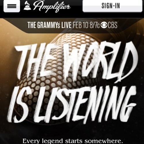 Click http://www.grammyamplifier.com/bigfromusic to vote to see me perform @thegrammys #meandmylouiebag #theworldislistening