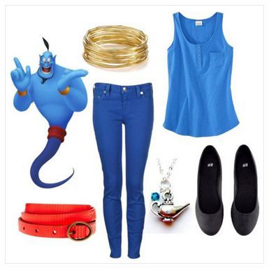 gurl:  10 Ways To Dress Like Aladdin Characters!