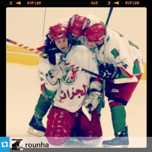 #Repost from @rounha with @repostapp Harond Litim scoring in the Arab cup #algeria #algerian #hockey #arab #uae #litim #goal